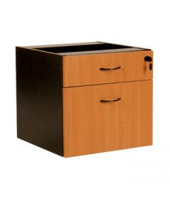 Logan 2 Drawer Fixed Pedestal
