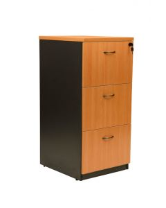 Logan 3 Drawer Vertical Filing Cabinet