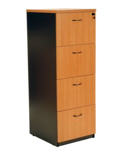 Logan 4 Drawer Vertical Filing Cabinet