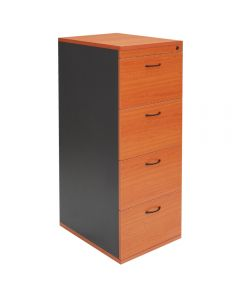 Rapid Worker 4 Drawer Vertical Filing Cabinet