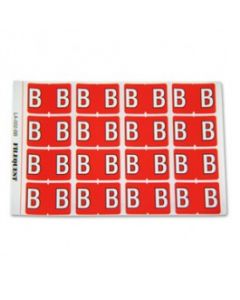 Letter B Alpha Labels