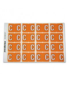 Letter C Alpha Labels