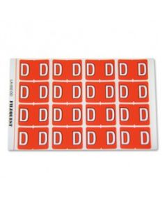 Letter D Alpha Labels