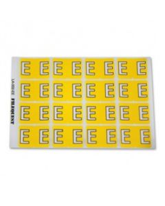 Letter E Alpha Labels