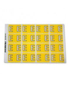 Letter E Alpha Labels