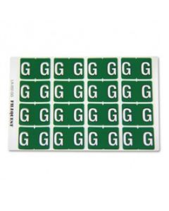 Letter G Alpha Labels