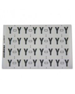 Letter Y Alpha Labels