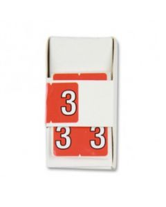Number 3 Numerical Labels
