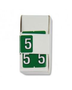 Number 5 Numerical Labels