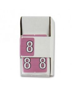 Number 8 Numerical Labels