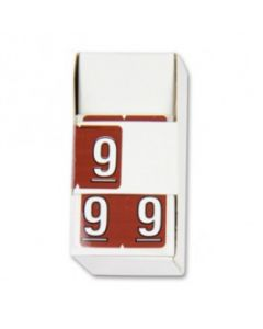 Number 9 Numerical Labels