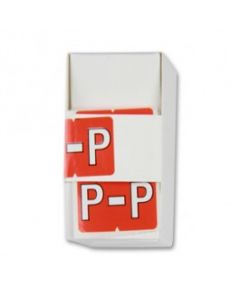 Letter P Alpha Labels