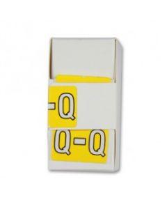 Letter Q Alpha Labels