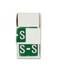 Letter S Alpha Labels