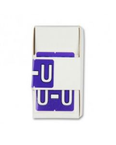 Letter U Alpha Labels