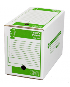 Loeffs Patent File Box - 24 pack