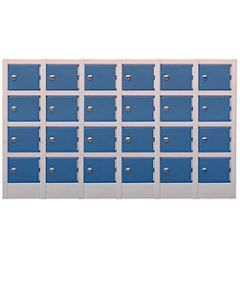 24 Compartment Mini Locker
