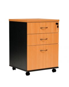 Logan 3 Drawer Mobile Pedestal