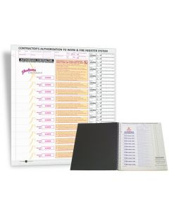 Personalised Contractor Pass Books