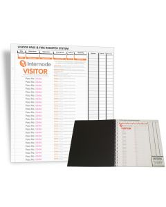 Visitor Pass Books