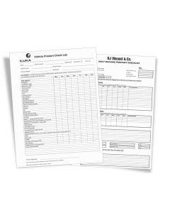 Prestart Checklist