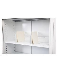Go Steel Tambour Cabinet 900W Slotted Shelf