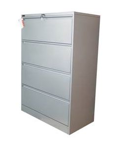 Ausfile 4 Drawer Lateral Filing Cabinet
