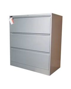 Ausfile 3 Drawer Lateral Filing Cabinet