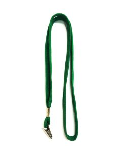 Green Lanyard With Alligator Clip