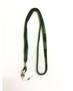 Staff Lanyard With Breakaway Clip and Alligator Clip