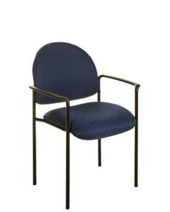 Stackable Visitor Chair With Arms