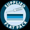 Supplied Flatpack