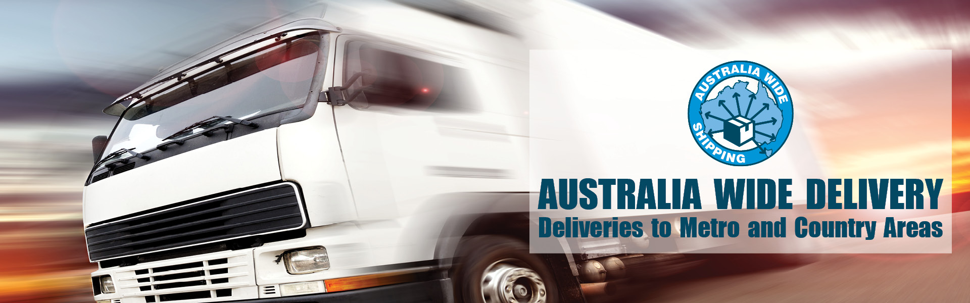 Australian Wide Delivery