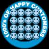 1000's of Happy Customers
